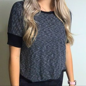 Soft knitted top